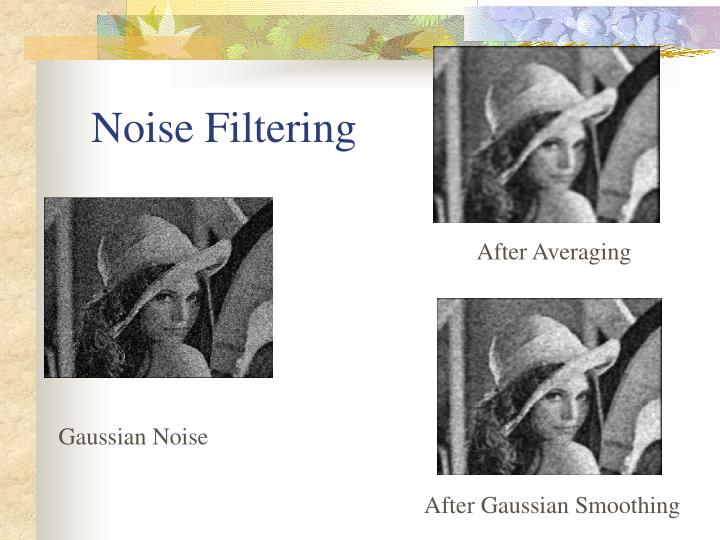 Noise Filtering