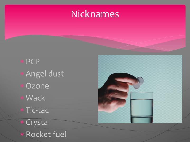 Nicknames