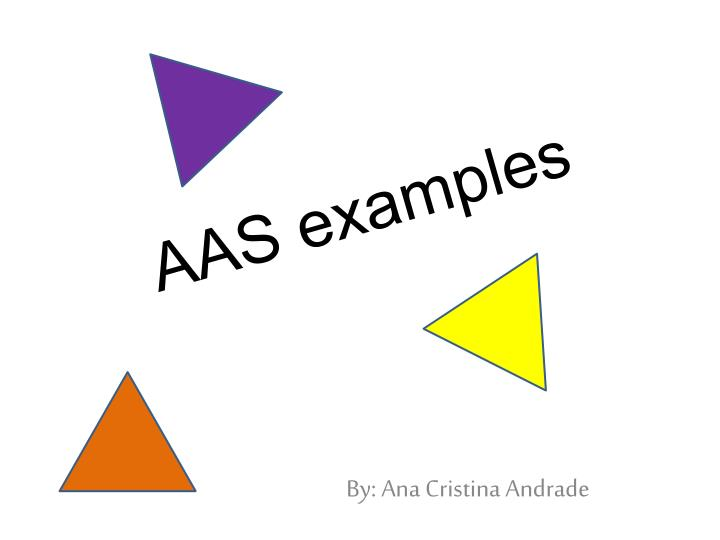 aas examples