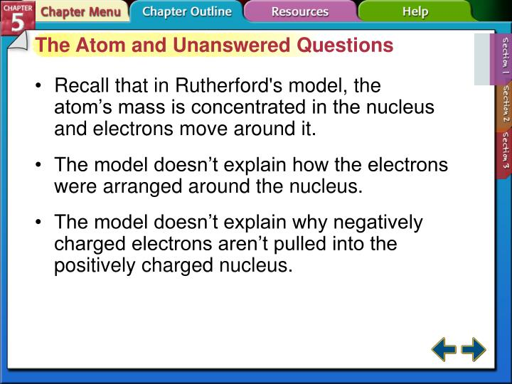 The Atom and Unanswered Questions