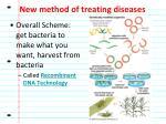new method of treating diseases