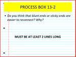 process box 13 2