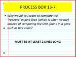 process box 13 7