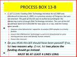 process box 13 8