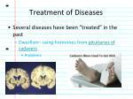 treatment of diseases1