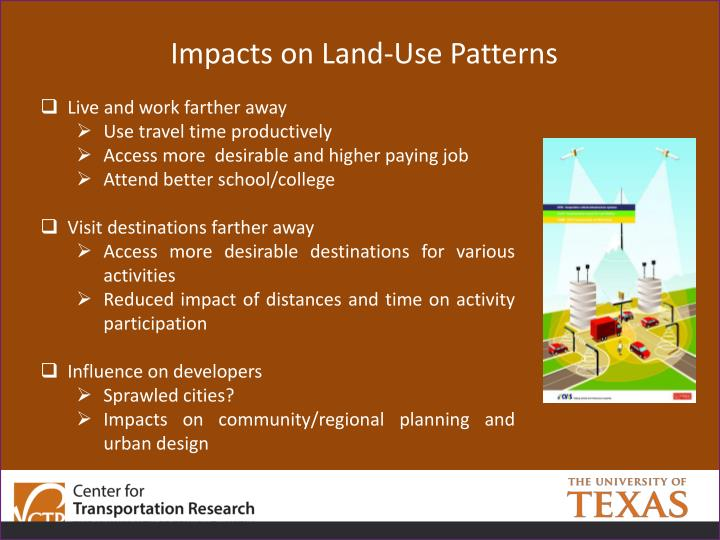 Impacts on Land-Use Patterns