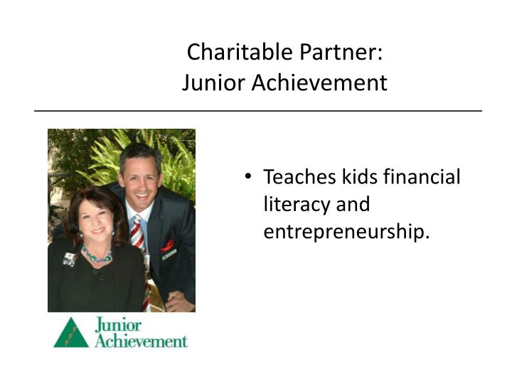 Charitable Partner: