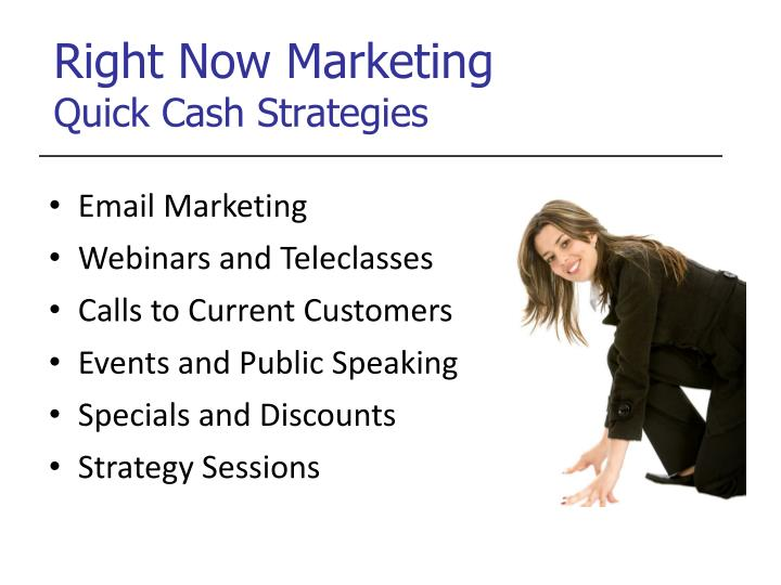 Right Now Marketing