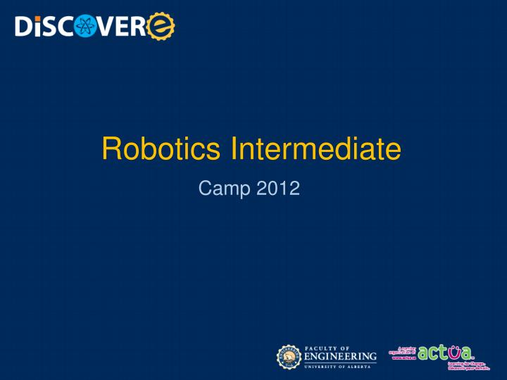 Robotics intermediate