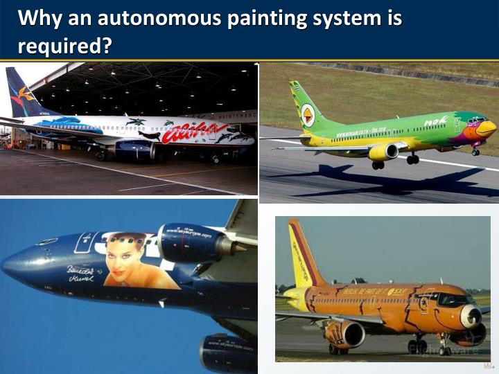 Why an autonomous painting system is required