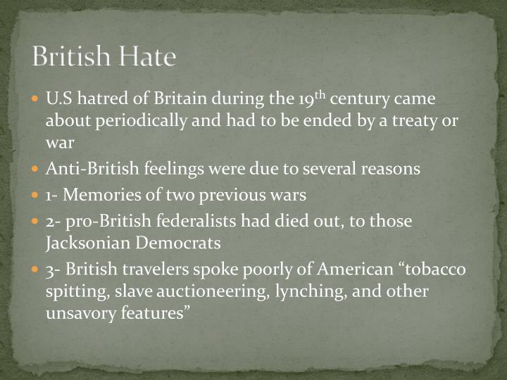British Hate