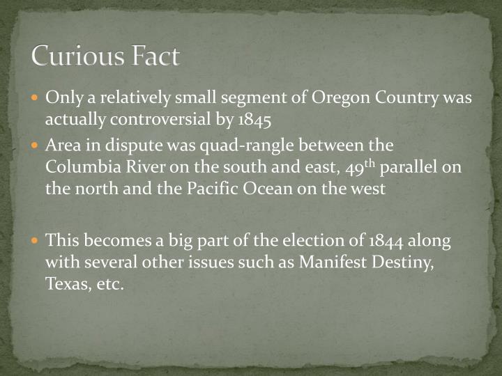 Curious Fact