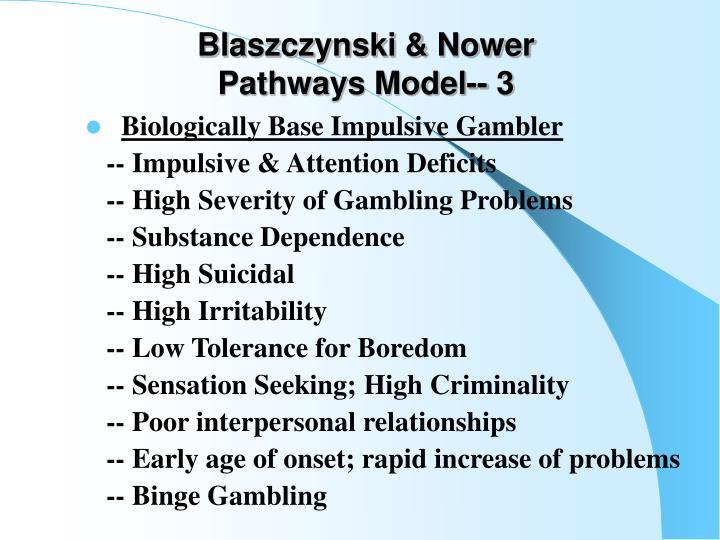 Blaszczynski & Nower