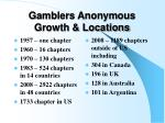 gamblers anonymous growth locations
