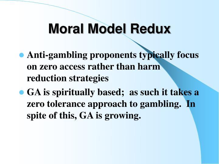 Moral Model Redux