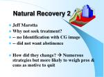 natural recovery 2