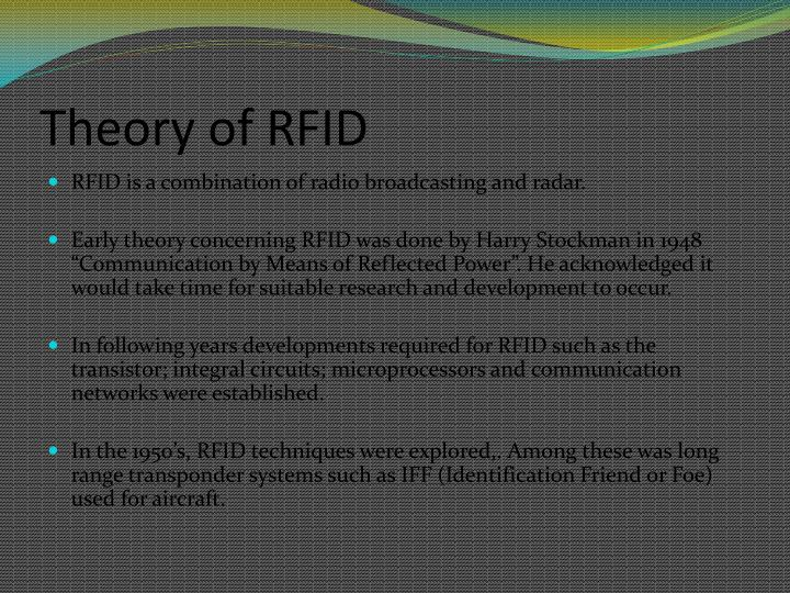 Theory of RFID