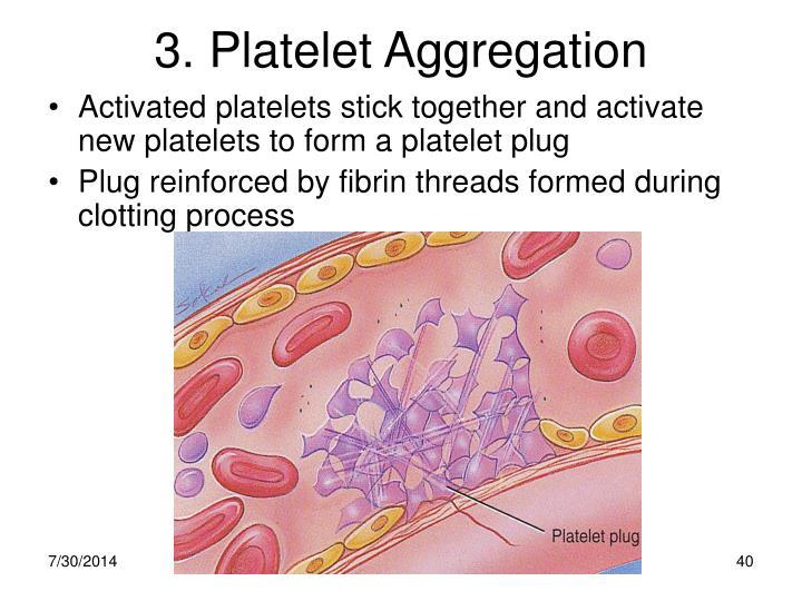 3. Platelet Aggregation