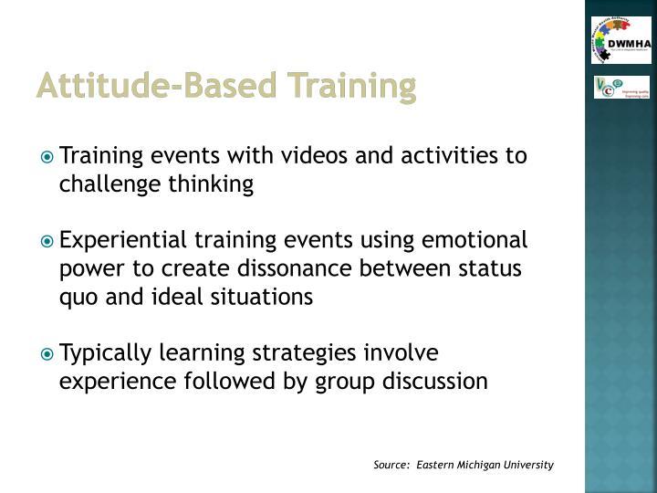 Attitude-Based Training