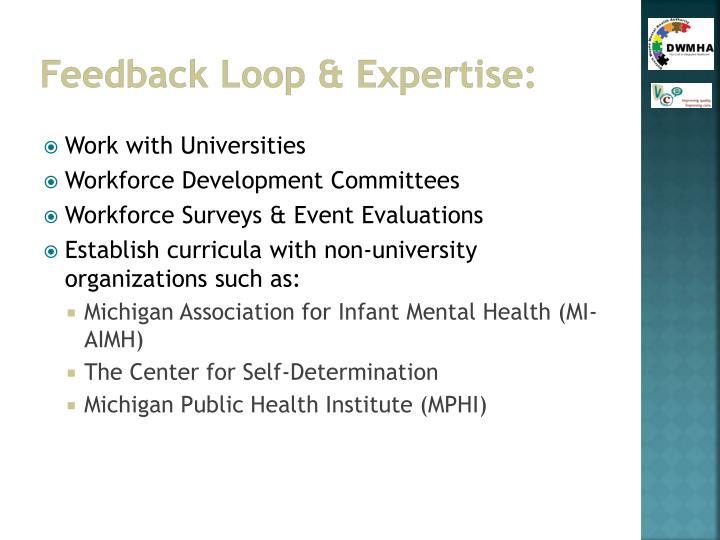 Feedback Loop & Expertise: