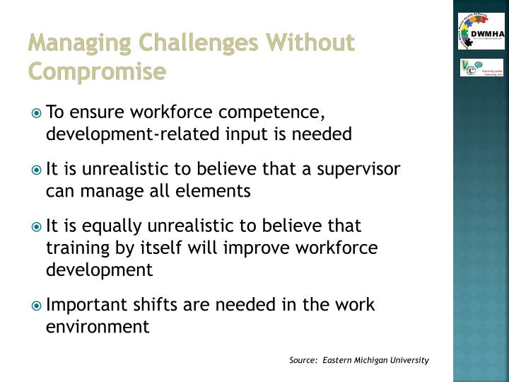 Managing Challenges Without Compromise
