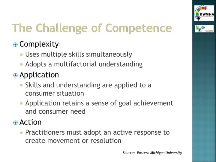 The Challenge of Competence