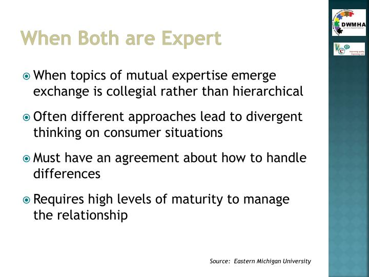 When Both are Expert