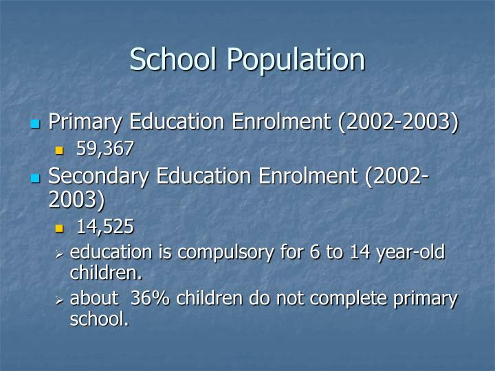 School Population