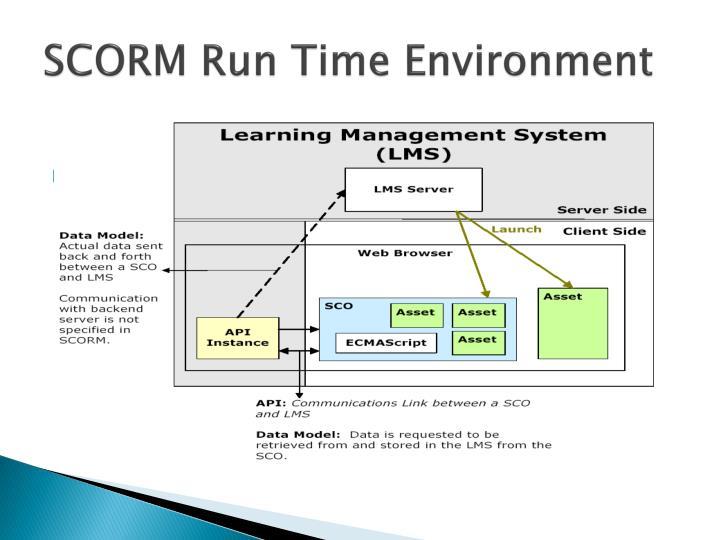 SCORM Run Time Environment