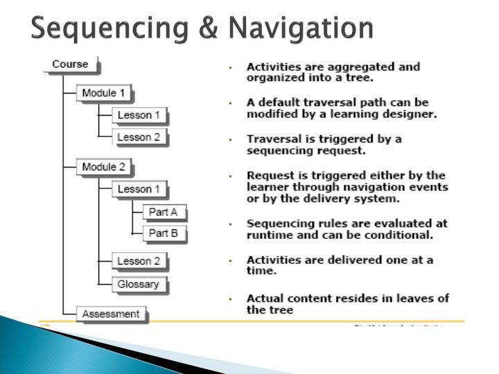 Sequencing & Navigation