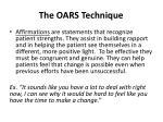 the oars technique1