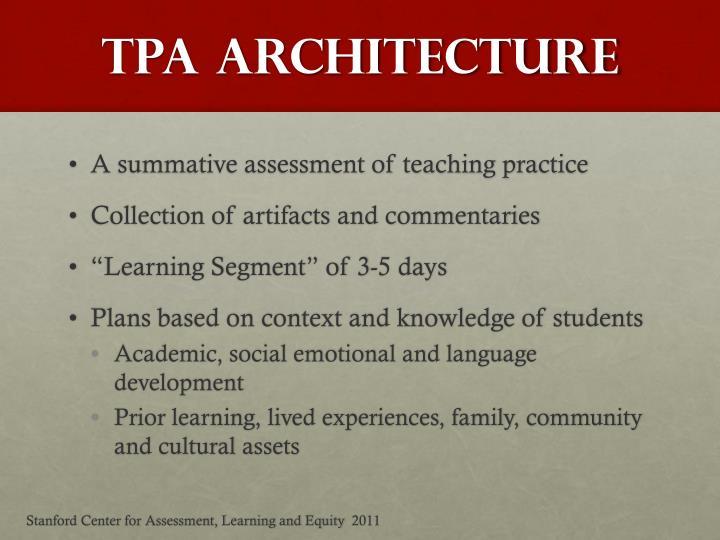 TPA Architecture