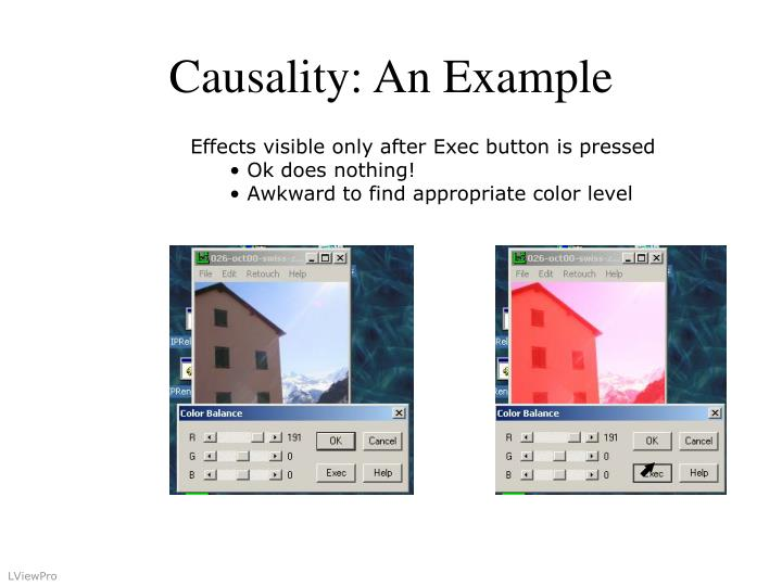 Causality: An Example