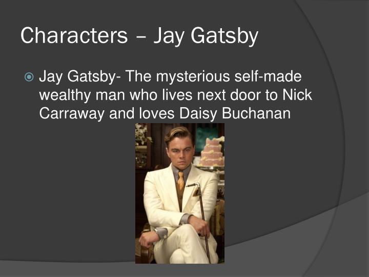 Characters – Jay Gatsby