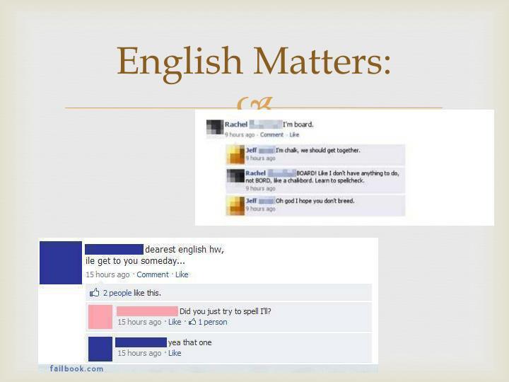 English Matters:
