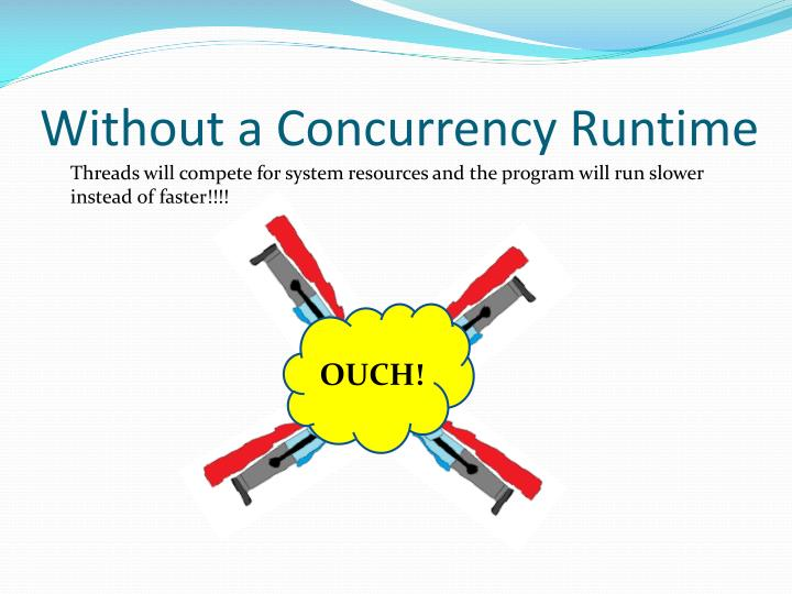 Without a Concurrency Runtime