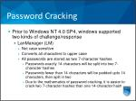 password cracking1