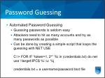 password guessing2