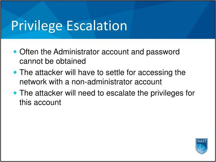 Privilege Escalation