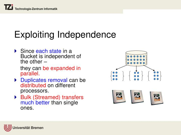 Exploiting Independence