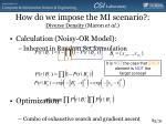 how do we impose the mi scenario diverse density maron et al