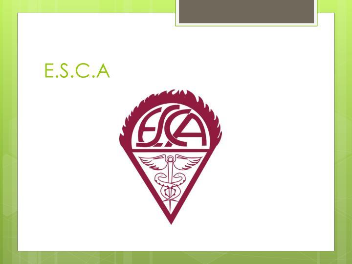 E.S.C.A