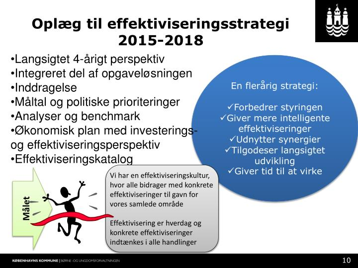 Oplæg til effektiviseringsstrategi 2015-2018
