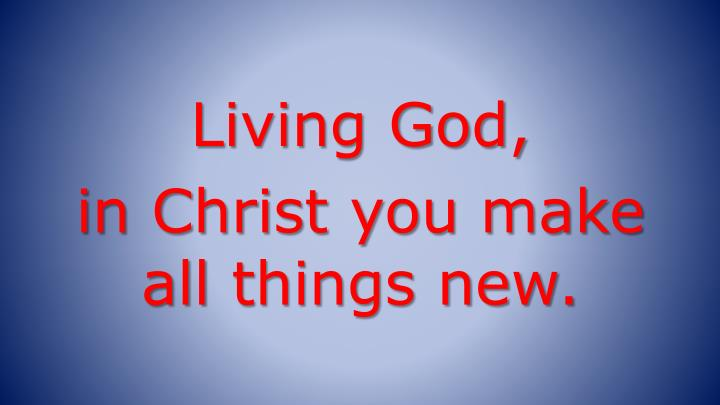 Living God,