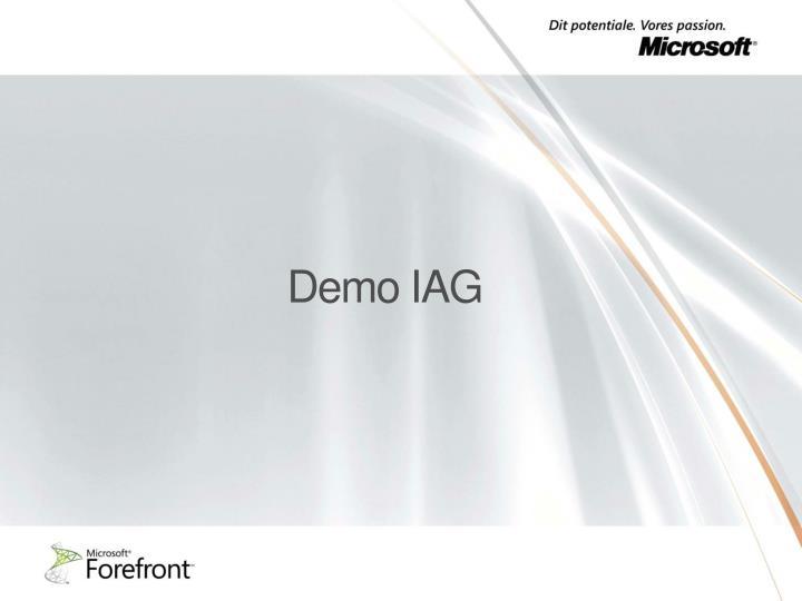 Demo IAG