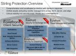 stirling protection overview