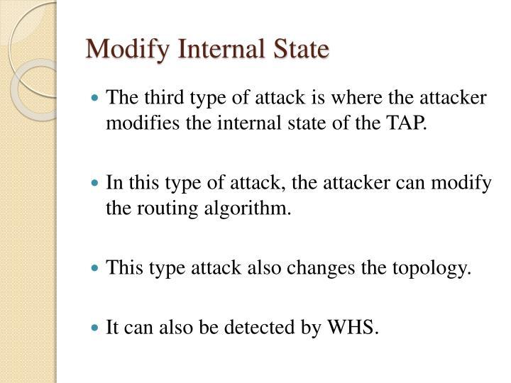 Modify Internal State