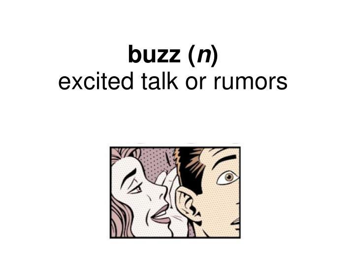 buzz (