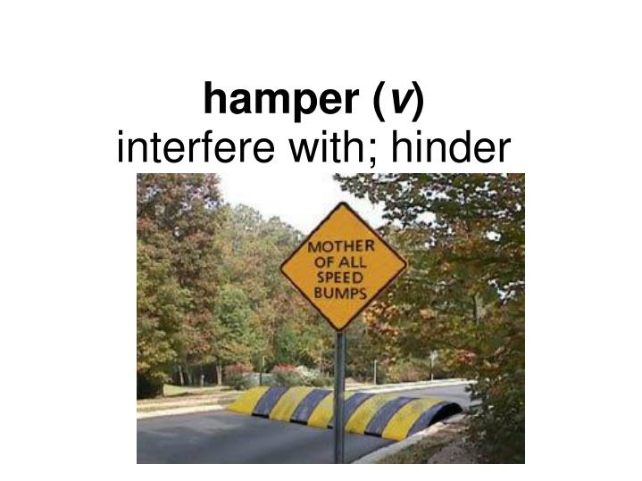 hamper (