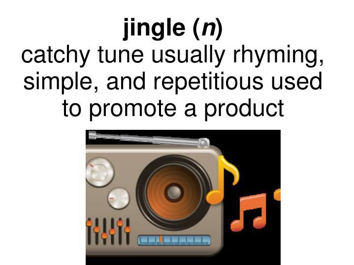 jingle (
